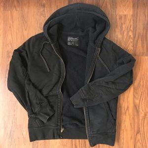JCrew Hooded Outerwear Fleece Zip-up